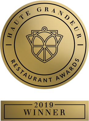 Haute Grandeur Restaurant Award 2019 Winner