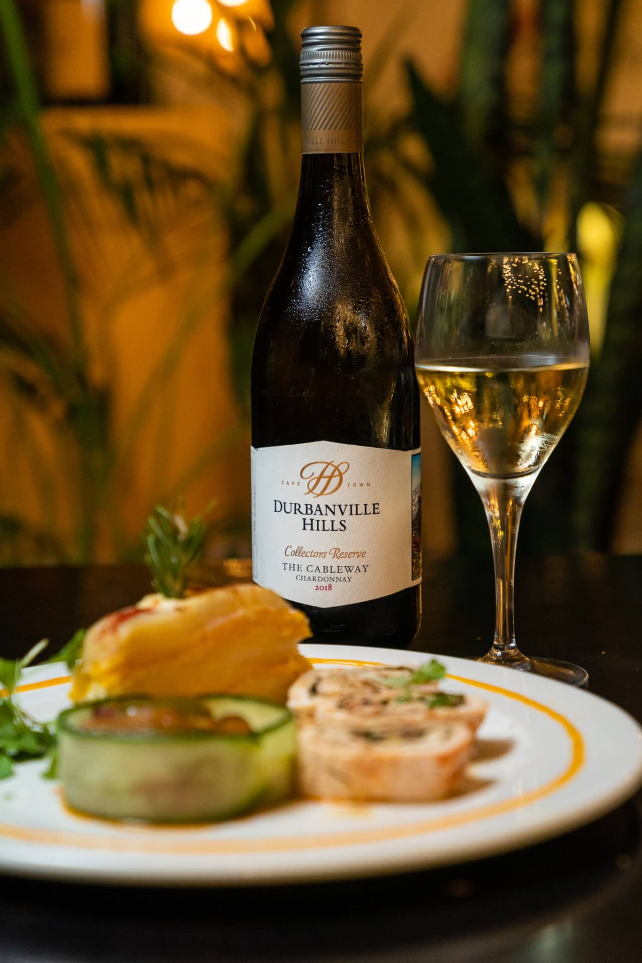Fine dining with a personal chef and Durbanville Hills wine (valued at R4 000)*